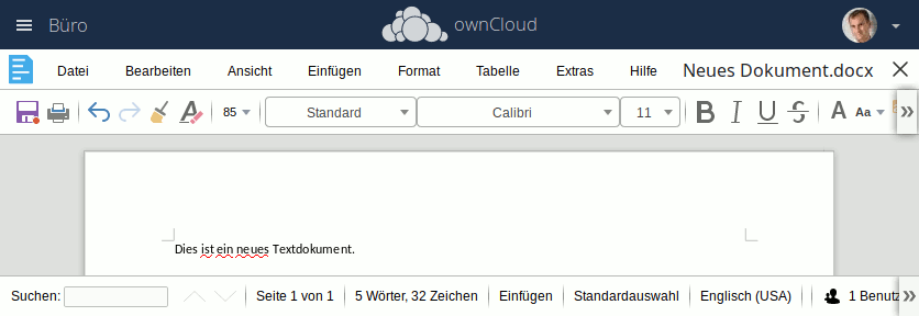 owncloud collabora online